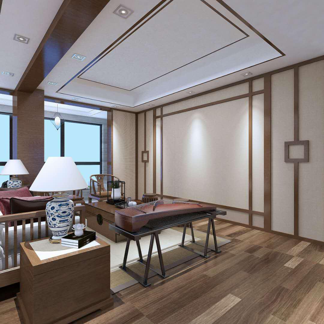 溶江·新外滩 / 新中式风格 / 140平米