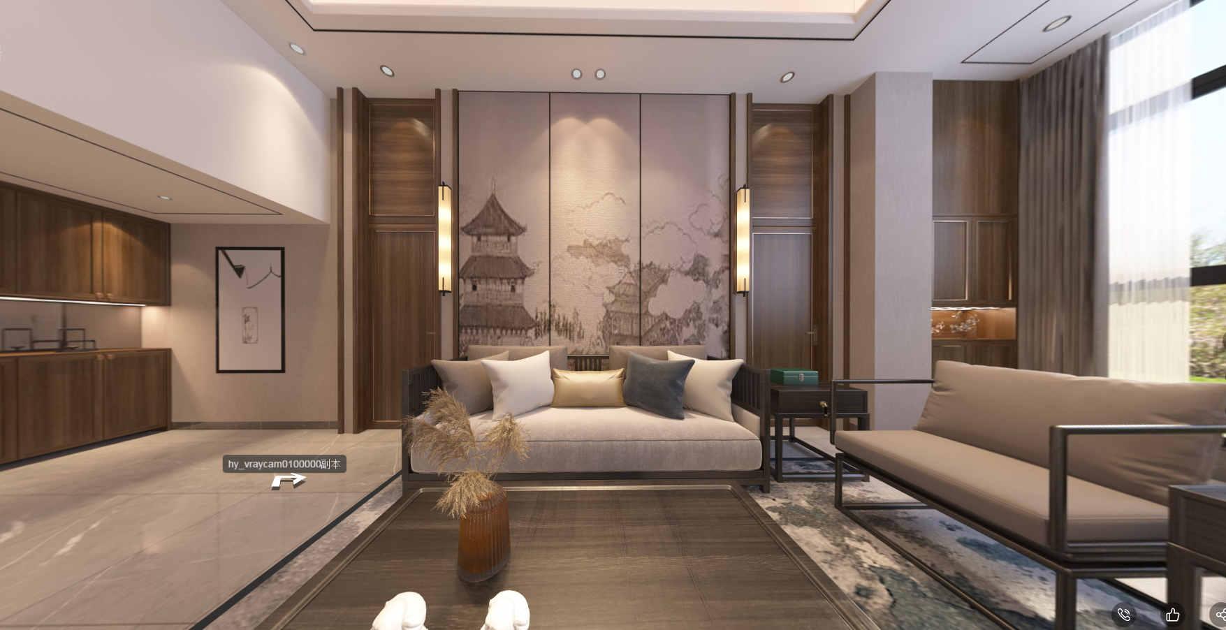 锦绣香江 / 现代简约风格 / 220平米