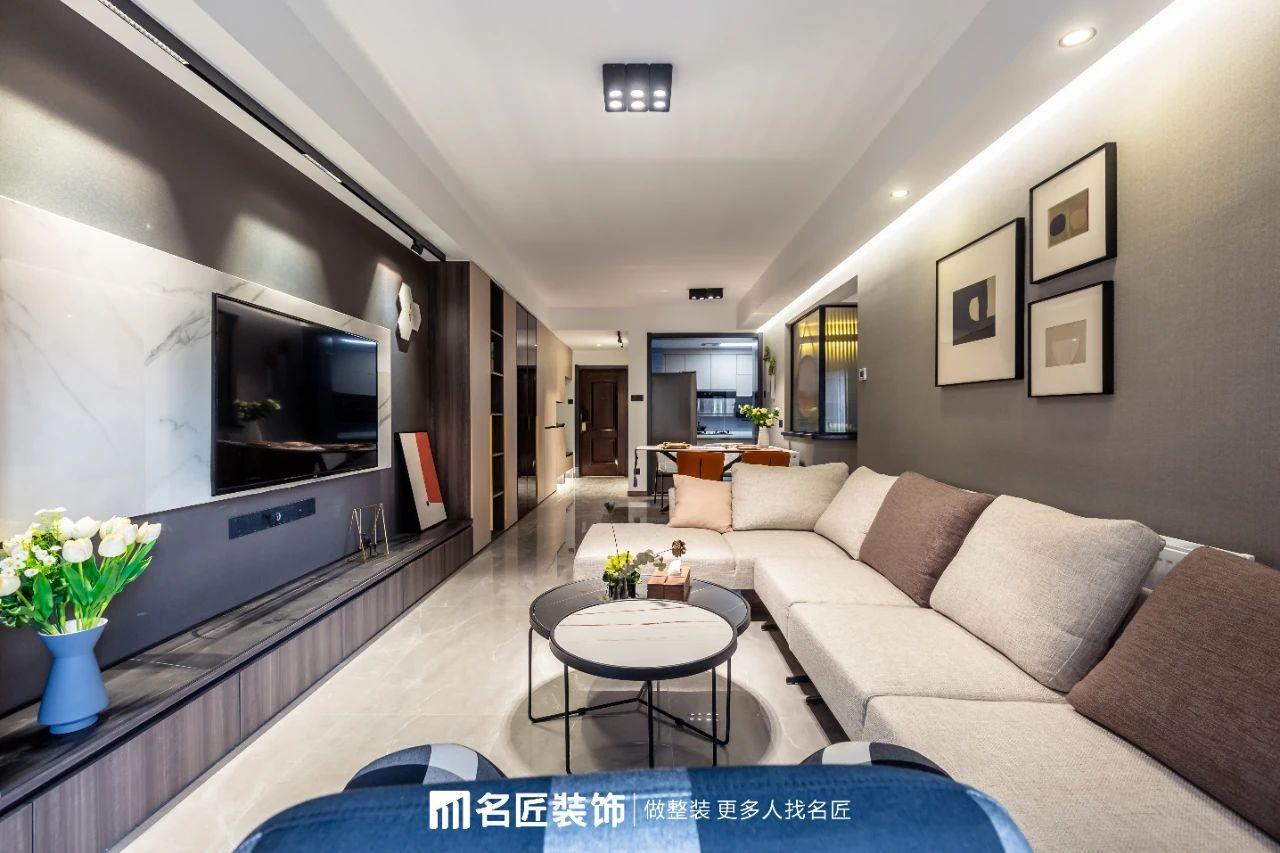 【生活美學】95㎡高級現代風,讓小家住出大宅感